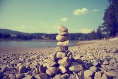 Torn av stenar Arkivfoto