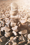 Torn av stenar royaltyfria bilder