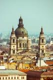 Torn av Stets Stephen basilika Royaltyfria Foton