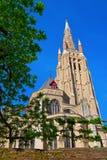 Torn av vår ladys Kyrktaga royaltyfri foto