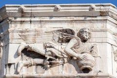 Torn av windsna Athens Grekland Arkivbilder