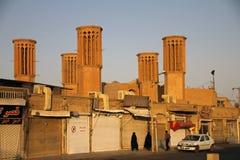 Torn av Yazd Arkivfoto