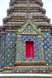 torn bangkok i det röda korset för tempelThailand abstrakt begrepp Royaltyfri Foto