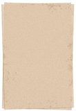 Torn blank paper. Brown torn paper is ideal for background of grunge design Stock Photos
