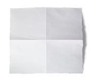 Torn blank paper (Clipping Path) Stock Images