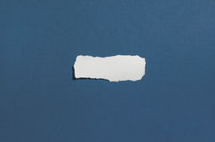Torn blank paper with copy space for text or message Stock Photos