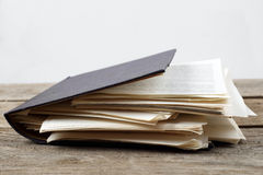 Torn book Royalty Free Stock Image