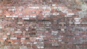 Torn brickwork for background. royalty free stock image