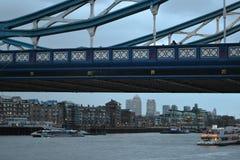 torn bridge1 Arkivfoton