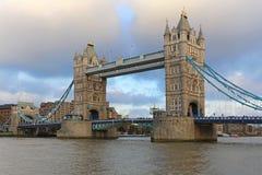 torn bridge1 Fotografering för Bildbyråer