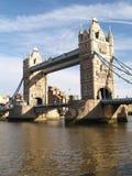 torn bridge1 Royaltyfri Fotografi