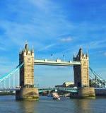 torn bridge1 Arkivfoto