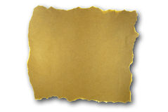 Torn brown paper Stock Photography
