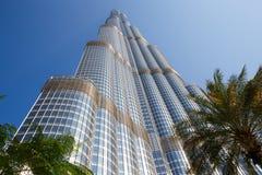 Torn Burj Khalifa Arkivfoton