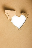 Torn cardboard Royalty Free Stock Photo