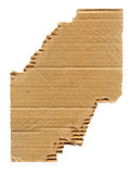 Torn cardboard Royalty Free Stock Photography