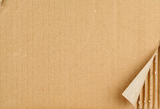 TORN CARDBOARD. Ripped Grungy Cardboard Background Royalty Free Stock Photography
