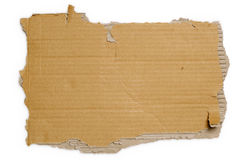 Free Torn Cardboard Royalty Free Stock Photo - 3139655