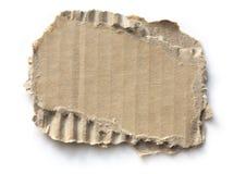 Torn Cardboard stock photo