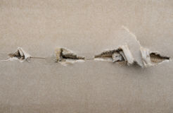 Torn cardboard Royalty Free Stock Images