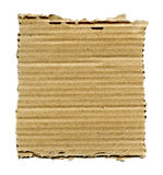 Torn cardboard isolated Royalty Free Stock Photography