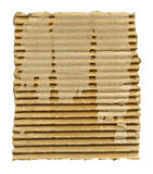 Torn cardboard isolated Stock Photography