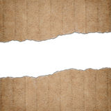 Torn cardboard paper Stock Photography