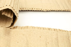 Torn cardboard sheet with place for text Royalty Free Stock Photos
