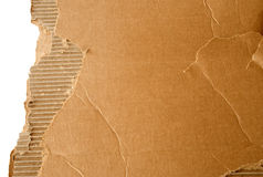 Torn cardboard texture 3. Torn cardboard texture for backgrounds or as element for design royalty free stock photos