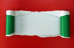Torn cardboard texture Stock Image