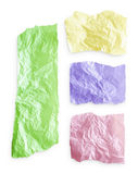 Torn colorful paper Royalty Free Stock Photo