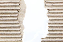 Torn corrugated Royalty Free Stock Photos