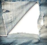 Torn Denim Jeans Royalty Free Stock Photo