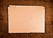 Torn envelope. Royalty Free Stock Image