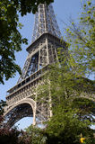 torn för 33 eiffel paris Royaltyfri Fotografi