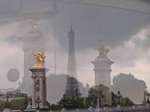 torn för 4 eiffel arkivfoto