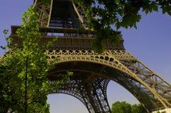 torn för 4 eiffel paris Arkivfoto