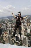 torn för banhoppningkl-skydiver Royaltyfri Fotografi