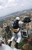 torn för banhoppningkl-skydiver Royaltyfria Bilder