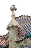 torn för batllocasahus Royaltyfri Bild