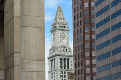 Torn för beställnings- hus i Boston Royaltyfri Fotografi