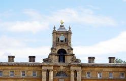 Torn för Blenheim slottklocka Royaltyfria Foton