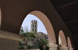 torn för bonifaciocorsica france sten Arkivfoto