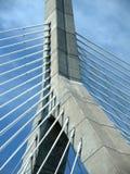 torn för brokabelstay arkivbild