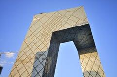 Torn för CCTV för ¼ för Beijing byggnadsï Arkivbild