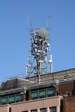 torn för celltelefon Arkivfoto