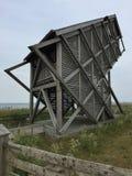 Torn för hålla ögonen på för fågel, Heilegenhafen Royaltyfri Bild