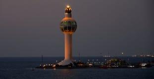 Torn för Jeddah portkontroll Royaltyfri Bild