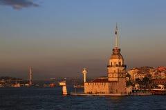 Torn för jungfru s, Turkiet Royaltyfri Fotografi