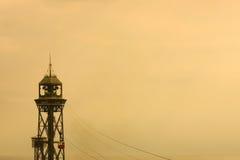 torn för kabelbil Royaltyfria Bilder